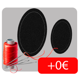 Con Velcros para deslizaderas (+0€)