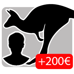 Piel de Canguro mono Adulto (+200€)