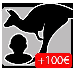 Piel de Canguro mono Niño (+100€)